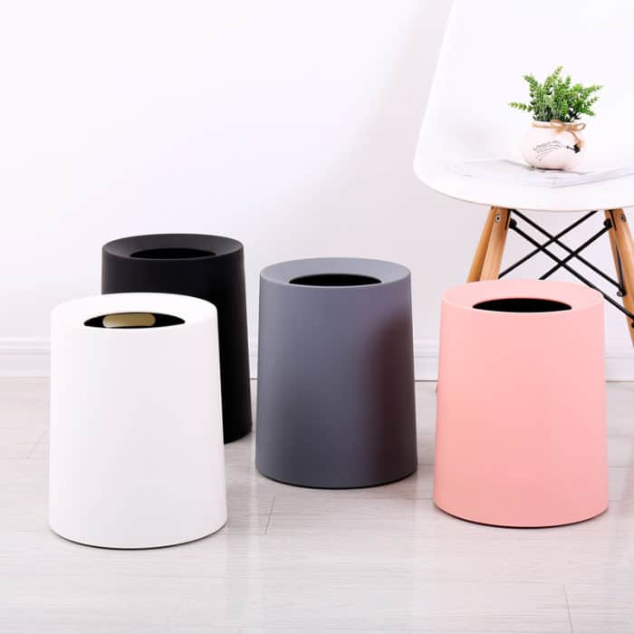 Recycling Waste Bin Plastic Trash Can