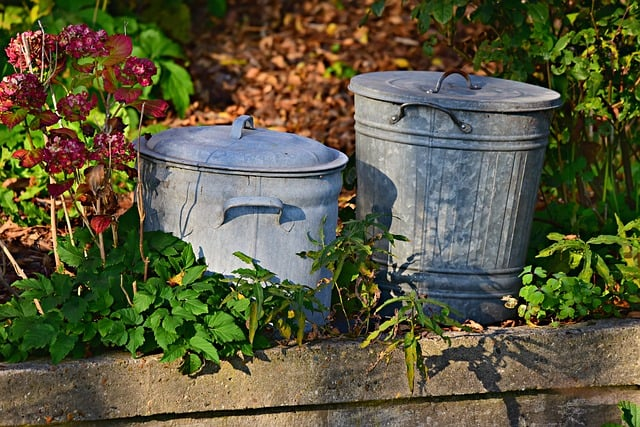 Kitchen Trash Can: Dry Wet Separation